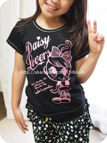 デイジーラバーズ Tシャツ 黒 P6220488