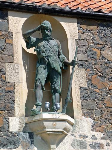 Alexander Selkirk Statue, Lower Largo