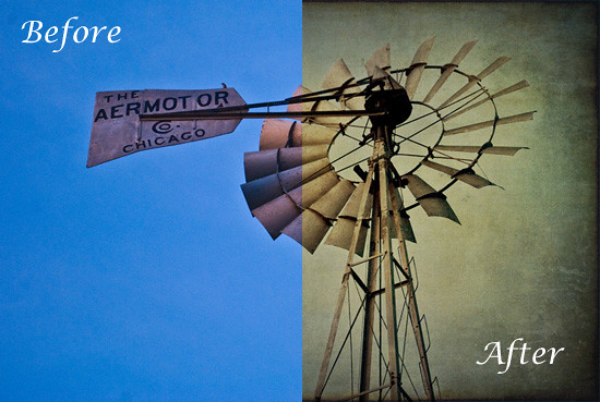 Uncle-Johns-Windmill---Before After