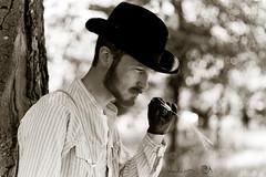 MrPanisn'taMalboroad (Dwam) Tags: bw hat shirt cowboy ad nb malboro mrpan dwam