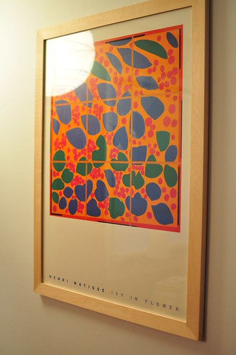 Matisse print in Joe made frame
