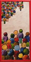 noi - loro (Roberto Valenzano) Tags: quadro colori artista quadri espressionismo dipinto astrattismo atrte noiloro