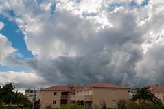 Uncertain Weather (HappyJP) Tags: sky cloud france home ctedazur antibes frenchriviera 1685mm nikond300s