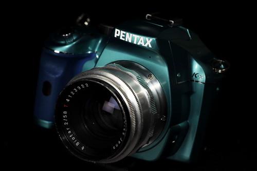 K-x with Biotar 58mm F2