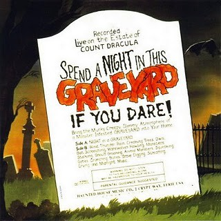 Night In A Graveyard LP back cover