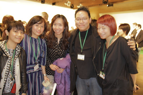 Me with the Hong Kong contingent (TPG closing party)