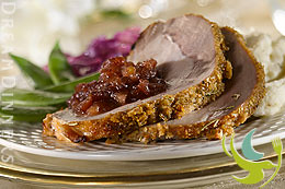 Honey Pecan Pork Roast