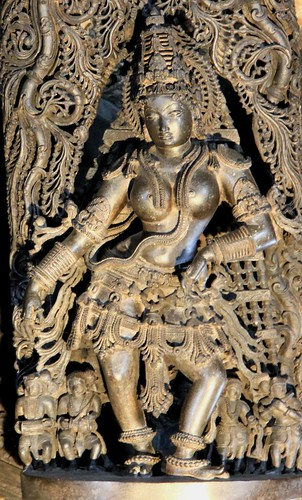 Inside Chennakesava Temple, Belur (Karnataka)