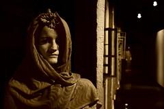 who is there (Ormio) Tags: street cold death women utca mummy sculptures pécs schaárerzsébet