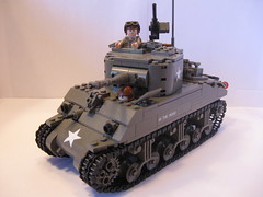 "Sherman M4A1(75) ""In the Mood"" 3rd Platoon, I Company, 32nd Armored Regiment, 3rd Armored Division (""Rumrunner"") Tags: army mood tank lego wwii american ww2 division armour armored 3rd m4 sherman worldwar2 allies in m4a1"
