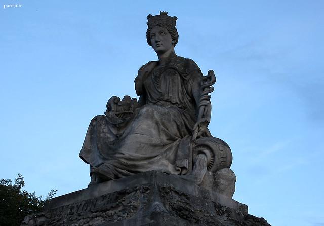 Statue de Lyon