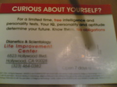 Scientology Flyer