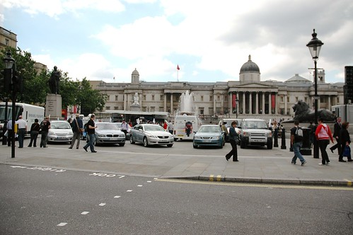 Trafalgar Square Eco Rally