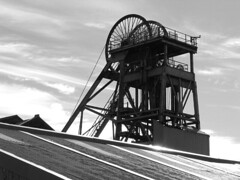 Haig Colliery Whitehaven (frazerweb) Tags: museum mine pit cumbria mines preserved coal whitehaven shaft colliery headgear haig collieries frazerweb