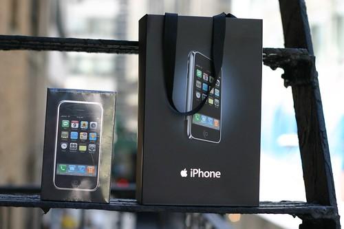 iphone box & bag