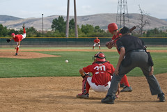 Ryan Wheeler (mark6mauno) Tags: california college fire nikon power baseball ryan palmsprings palm southern springs valley wheeler d200 catcher nikkor pitcher irvine 2007 umpire shriner xyz 70200mmf28gvr nikond200 ryanwheeler haughian irvinevalleycollege