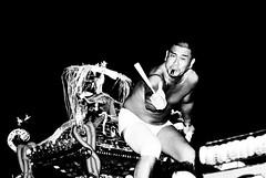 One year ago- Arakawaoki matsuri (II) (manganite) Tags: people bw men fashion festival japan digital pose geotagged asian japanese dance costume cool nikon portable shrine asia dancing tl traditional young posing guys dancer 日本 nippon d200 nikkor dslr matsuri nihon kanto mikoshi tsuchiura ibaraki 50mmf18 arakawaoki utatafeature manganite nikonstunninggallery ipernity geo:lat=36028547 geo:lon=140168381 date:year=2006 date:month=july date:day=16