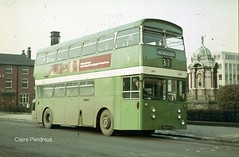 Bury Corporation Atlantean (Lady Wulfrun) Tags: bus public buses town bury metro rear transport mc transportation ren 1960s 104 leyland mcw cammell selnec atlantean engined