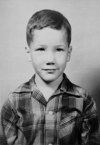 Gerry 1959 school photo repair