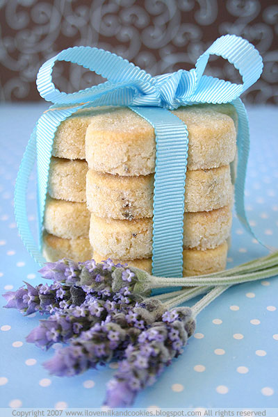 shortbread cookies are lavender shortbread easy lavender shortbread ...