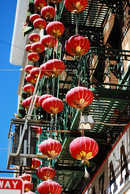 Lights in ChinaTown