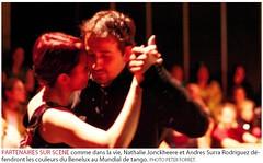 Le Soir, Mundial de Tango - by Peter Forret