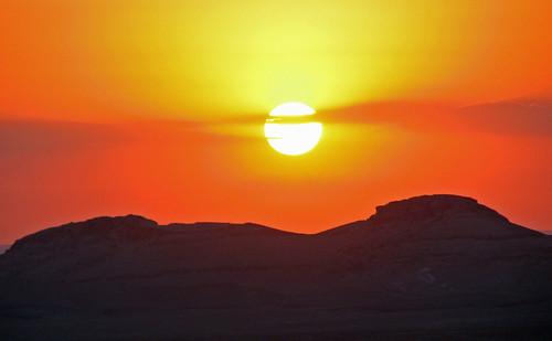 coucher de soleil palmyra