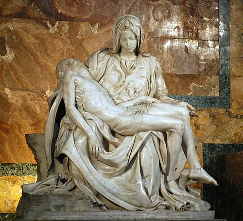 Rome, Vatican, St. Peter's Basilica, The Pieta
