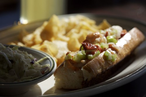 Award winning Lobster sandwich (according to MSNBC)