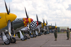 Duxford_Flying_Legends_074 (John_Kennan) Tags: slr 20d plane canon eos fighter aircraft north aeroplane na american duxford mustang p51d duxfordflyinglegends2007