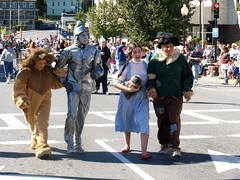 Fall Foliage Parade in North Adams, Massachusetts (Len Radin) Tags: fall adams oz wizard massachusetts north foliage