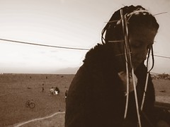 fearless (In dust we trust) Tags: city man black rock edited nevada playa burningman blackrockcity burning brc 2007 burningman2007