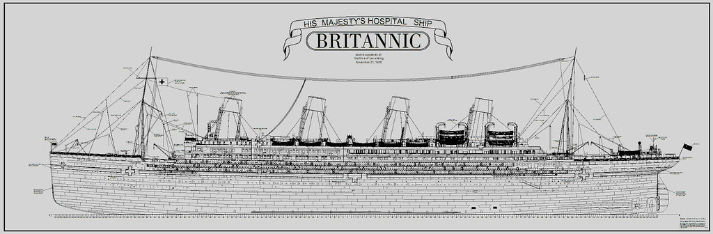 How To Draw Britannic Ship Britannic Coloring Pages
