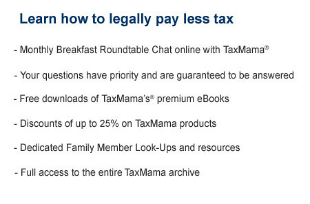 Learn how to legally pay less tax as a family member at TaxMama
