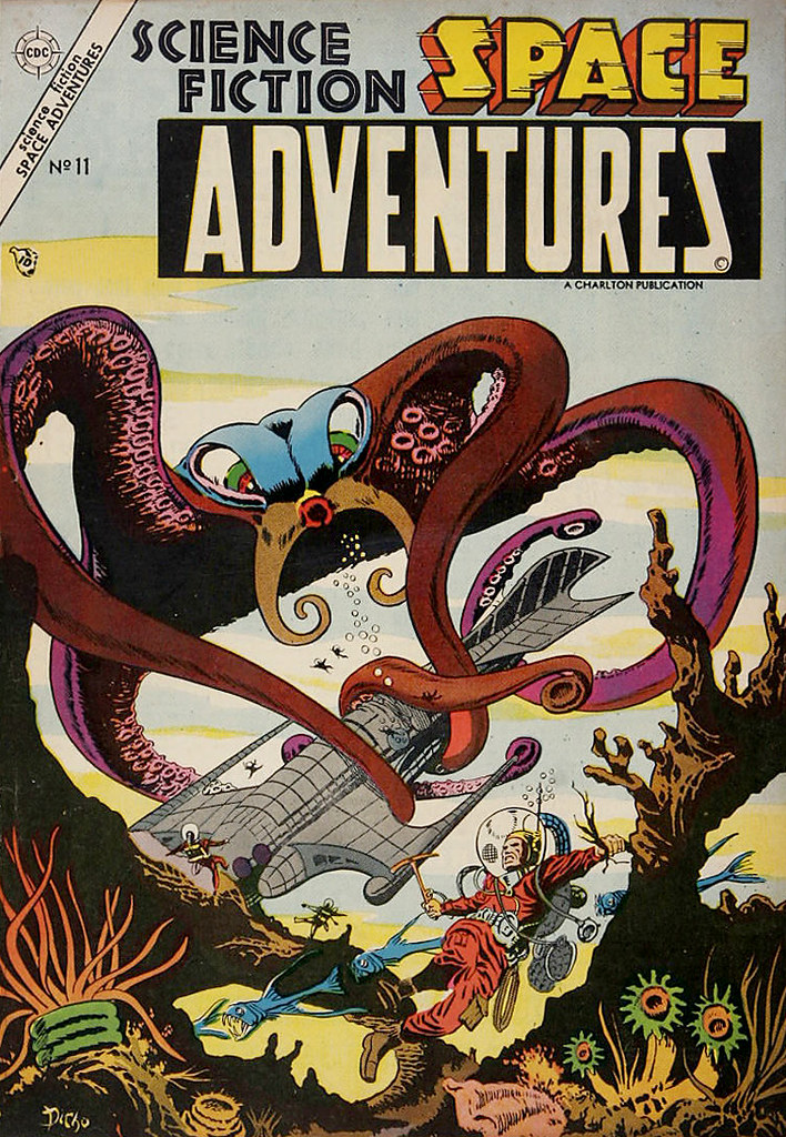 Space Adventures #11 (Steve Ditko Art) Charlton, 1954