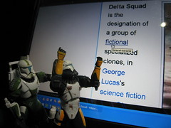 What do you mean I'm FICTIONAL??? (jpberba) Tags: scorch deltasquad