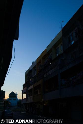 Dawn in Tawau