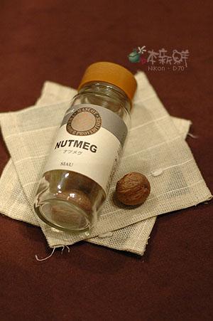 肉豆蔻(nutmeg)