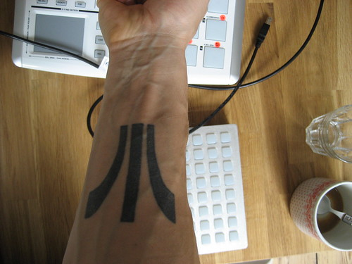 Any suggestions on the ultimate Ableton or Max/MSP tattoo, which would seem