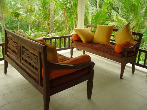 Main Terrace Teak Wood seating Furniture