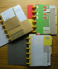 project booklets (judyofthewoods) Tags: hack circa diyplanner rollabind officecraft