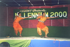 Majuli Island, Assam, India (east med wanderer) Tags: india dance millennium celebrations assam northeastindia majuliisland theindiatree