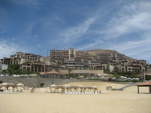 This was our hotel, the Pueblo Bonito Sunset Beach.