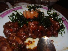 Orange beef at Longxiang