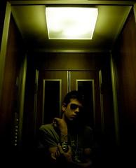 Vampires (LukeFill) Tags: me is lift io strong monkeys but bit vampires rayban perhaps ascensore occhiali elevetor nikonl12 4piano arctict