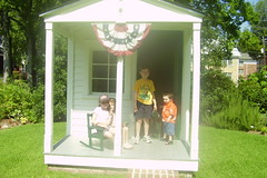 072107 Little Rock All Kids Restored Playhouse