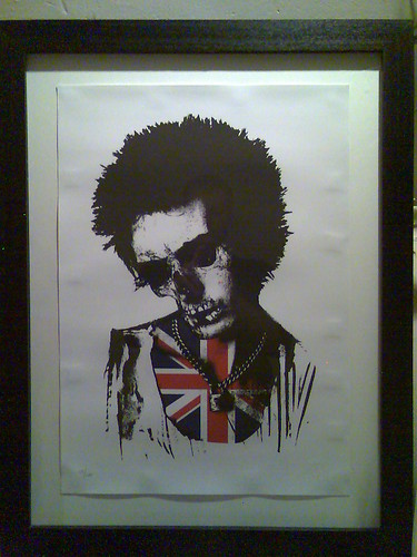 Sid Vicious portrait by Insect