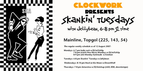 Skankin' Tuesdays