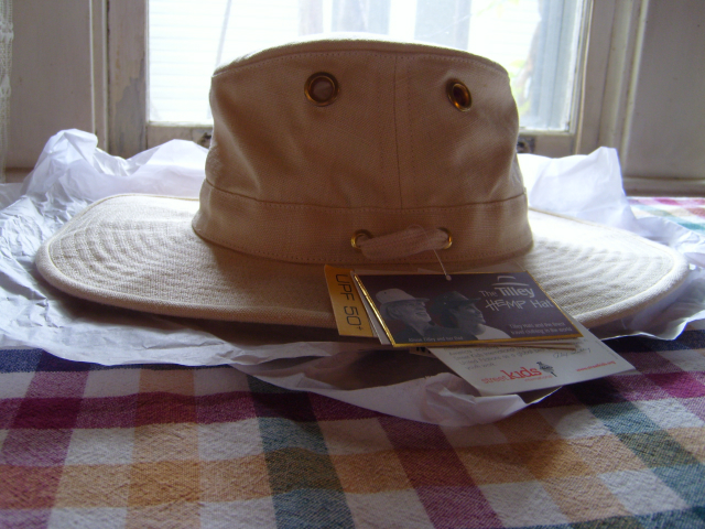 Tilley TH4 Hemp Hat - 7 1 8 - Natural Hemp  cfb2951495a