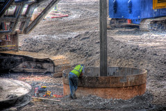 Chicago Spire breaking ground: 4